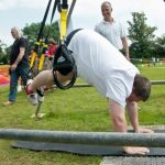 Richie shows off his TRX Pike at Stallcombe Fayre