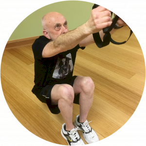 Peter Green on TRX